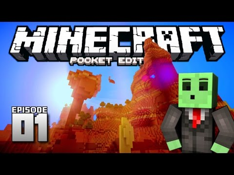 Let's Play Minecraft PE - Ep.1 : The Adventure Begins!