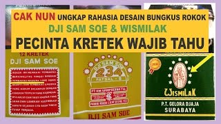 Download Lagu CAK NUN ungkap rahasia bungkus rokok DJI SAM SOE dan WISMILAK || PECINTA KRETEK WAJIB TAHU Mp3