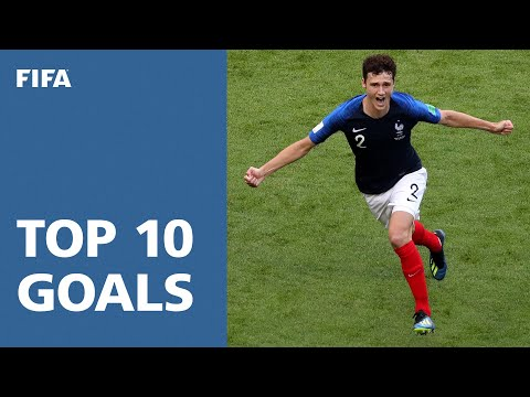 TOP 10 GOALS - 2018 FIFA WORLD CUP RUSSIA (EXCLUSIVE) (видео)