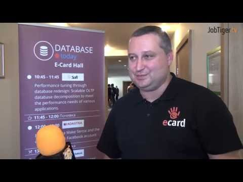 E-CARD на Be IT Conference: Database клъстериране