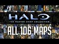 Halo: The Master Chief Collection - All 106 Maps (w/ Images)