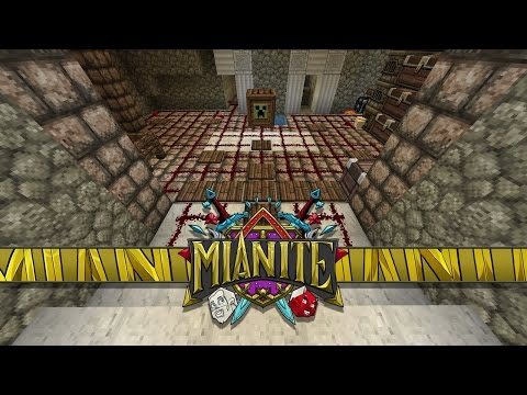 Minecraft: Mianite - TROLLING TIME, Breaching Sparklez's Vault & The Arrival Of The Wizards! [45]