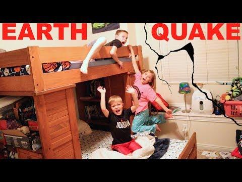 100 EARTHQUAKES Shake Our House!!!