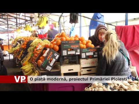 O piață modernă, proiectul Primăriei Ploiești