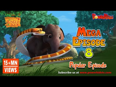 The Jungle Book Cartoon Show Mega Episode 8 | Latest Cartoon Series