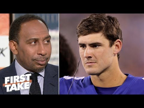 Video: Stephen A. applauds the Giants for replacing Eli Manning with Daniel Jones | First Take