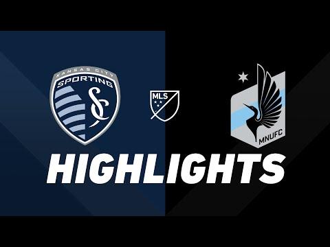 Video: Sporting Kansas City vs. Minnesota United FC | HIGHLIGHTS - August 22, 2019