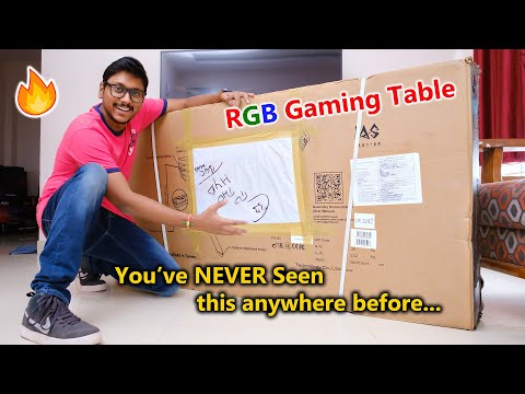 First RGB Gaming Desk Unboxing in India... This is MADNESS 🤯🔥