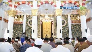 Bergaya Timur Tengah, Masjid Haji Keuchik Leumik Sudah Dicita-Citakan Sejak 22 Tahun Silam