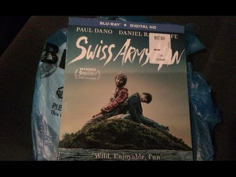 Swiss Army Man Blu-Ray Review/Unboxing (HD)