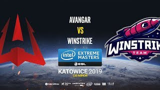 AVANGAR vs Winstrike - IEM Katowice CIS Minor - map1 - de_dust2 [Craggy & SleepSomeWhile]