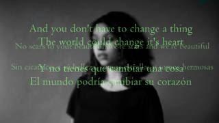 Video Scars To Your Beautiful - Allessia Cara|| Lyrics (Ingles& Sub.Español) MP3, 3GP, MP4, WEBM, AVI, FLV Juni 2019