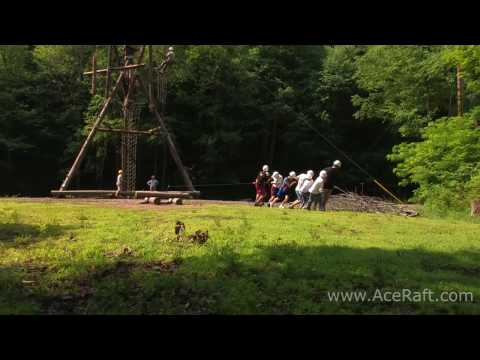Alpine Tower Corporate Team Building | ACE Adventure Resort HD Video
