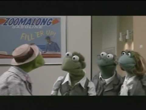 One of the scene from MUPPET TAKES MANHATTAN