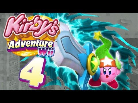 kirby's adventure wii unlockables