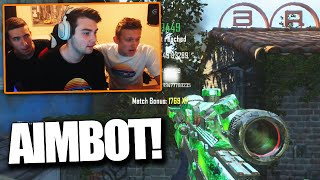 TROLLING THE RED HOUSE WITH AIMBOT! - BO2 Trickshotting