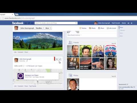 Wall Post - This tutorial will show you how to edit a Facebook wall post. Don't forget to check out our site http://howtech.tv/ for more free how-to videos! http://youtu...