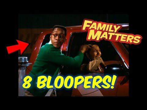 8 Family Matters Bloopers You Probably Never Caught!--Steve Urkel!