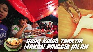 Video Ngakak! Yang kalah Traktir Makan Pinggir Jalan - Jingkrak2 Ber-13 Tanding Bowling| Part 2 MP3, 3GP, MP4, WEBM, AVI, FLV Juli 2019