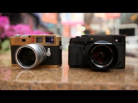 Fujifilm X-Pro1 vs Leica M9 (M8) – On The Streets