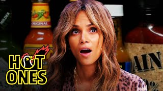 Video Halle Berry Refuses to Lose to Spicy Wings   Hot Ones MP3, 3GP, MP4, WEBM, AVI, FLV Juni 2019