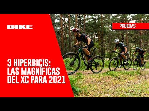 BIKE Test HIPERBICIS: Las 3 fantásticas del XC para 2021