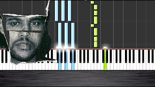 The Weeknd - Can't Feel My Face - Piano Tutorial  Ноты и М�Д� (MIDI) можем выслать Вам (Sheet music