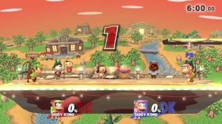 Rare Footage of Justin Wong's Diddy Kong in Smash 4