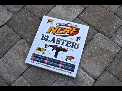 [REVIEW] Nerf Ultimate Blaster Book Review
