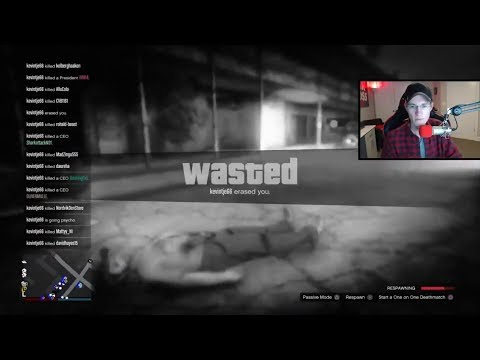 RIP MrBossFTW CAR MEETUP GONE WRONG   GTA 5 Online Killing MrBossFTW On His Livestream