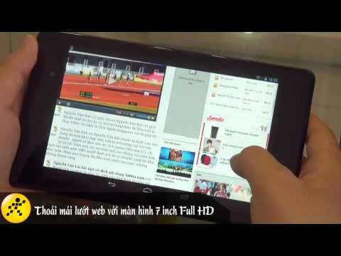 Video về Google Nexus 7 2013 16GB/Wifi