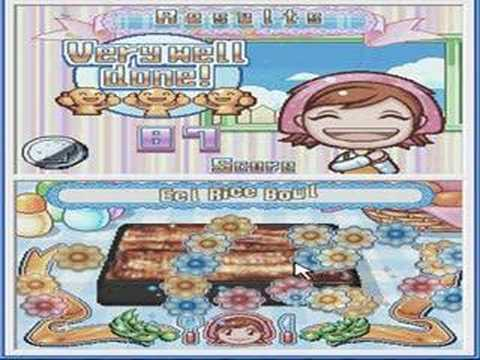 Cooking Mama 2: Eel Rice And  Squid Rice Recipes (emulator)