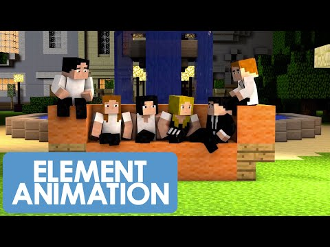 A Minecraft Friends Parody (Minecraft Animation)