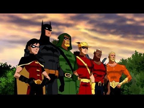 Young Justice season 1: Opening scene | Episode 1