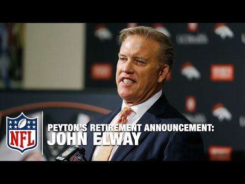 Video: John Elway on Peyton Manning: 'He Revolutionized the Game' | NFL News