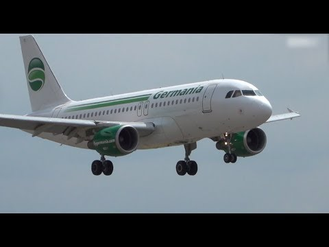 Airline Germania insolvent: Flughafen Rostock Laage s ...