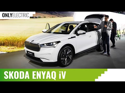 New Skoda Enyaq - first EV SUV based on MEB Volkswagen Group platform - OnlyElectric