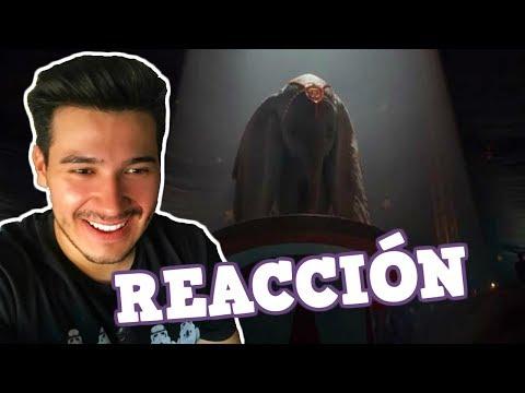 REACCIÓN AL 1#TEASER TRAILER DE