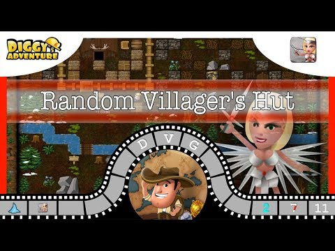 [~freya~] #11 Random Villager's Hut - Diggy's Adventure