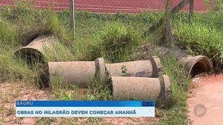 Após anos de abandono, estádio 'Milagrão' vai receber reforma de quase R$ 2 milhões