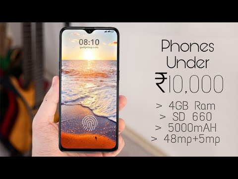 Top 5 Best Smartphones Under 10000 In 2019