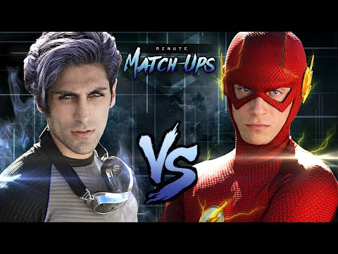 THE FLASH vs QUICKSILVER - Ai sẽ thắng :)