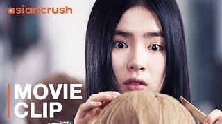 Korean teen's plastic surgery takes a terrifying turn | Clip from Korean horror movie 'Cinderella'