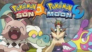 Rockruff, Komala and New Features Sneak Peek | Pokémon Sun and Moon! by Munching Orange
