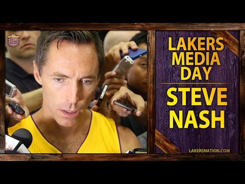 lakers - Lakers point guard Steve Nash voices optimism but uncertainty with upcoming season, saying there's no guarantees he plays. Join the Largest Lakers Fan Site in the World http://LakersNation.com...