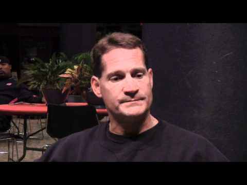 0 Post Practice Interview With Auburn Coach Gene Chizik