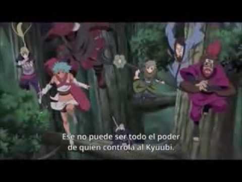 BATALLA(THE - La pelea donde Naruto y Killerbee inician la pelea contra el Madara Uchiha Falso, (Obito Uchiha).