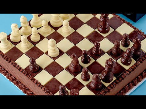 Cool Chess Cake, Learn How to Make This Epic Cake (VIDEO)