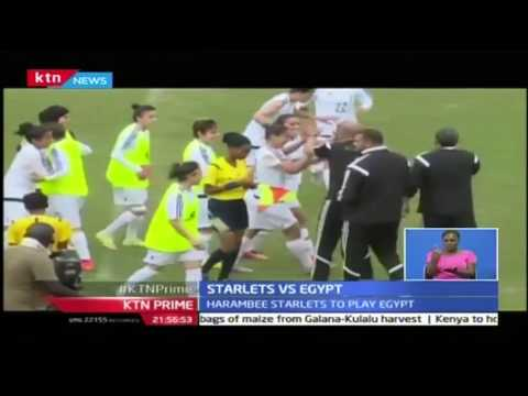 KTN Prime: Harambee Starlets gear up for friendly match against Egypt