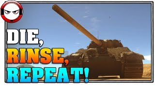You try to have fun with high tier Germans and this is what you get. Death in the Panther II, Tiger II and Jagdtiger... Like and...